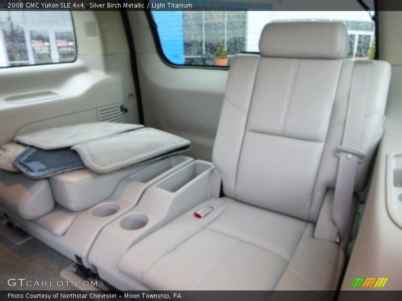 Rear Seat of 2008 Yukon SLE 4x4