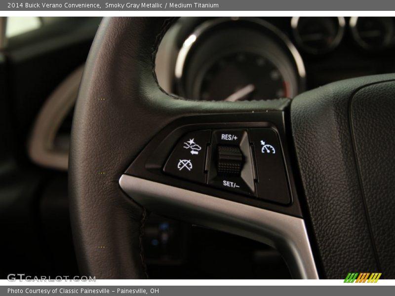 Controls of 2014 Verano Convenience
