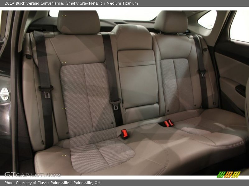 Rear Seat of 2014 Verano Convenience