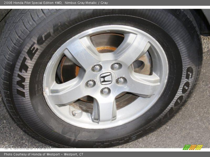 Nimbus Gray Metallic / Gray 2008 Honda Pilot Special Edition 4WD