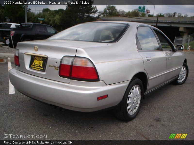 1996 honda accord ex sedan in heather mist metallic photo. Black Bedroom Furniture Sets. Home Design Ideas