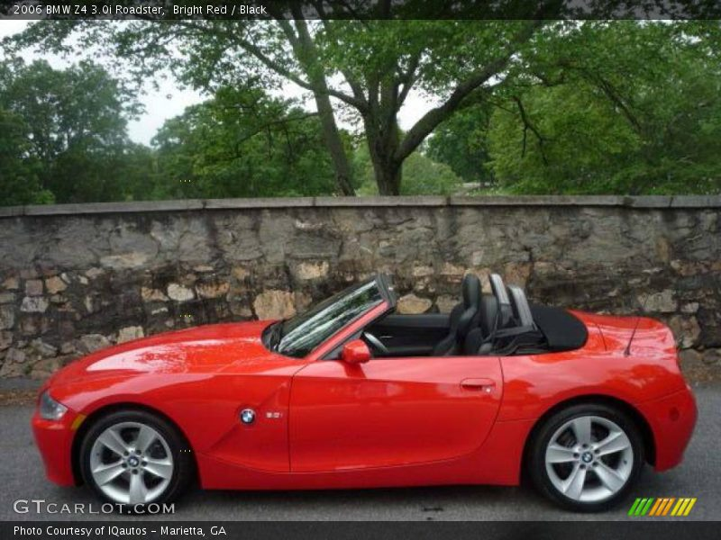 2006 bmw z4 roadster in bright red photo no 9204521. Black Bedroom Furniture Sets. Home Design Ideas