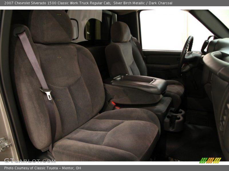 Silver Birch Metallic / Dark Charcoal 2007 Chevrolet Silverado 1500 Classic Work Truck Regular Cab
