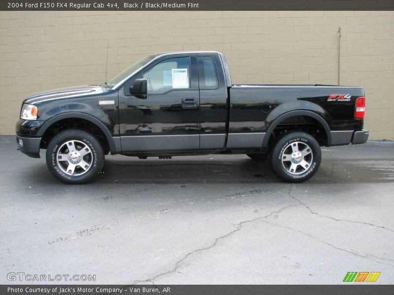 2004 ford f150 fx4 regular cab 4x4 in black photo no. Black Bedroom Furniture Sets. Home Design Ideas