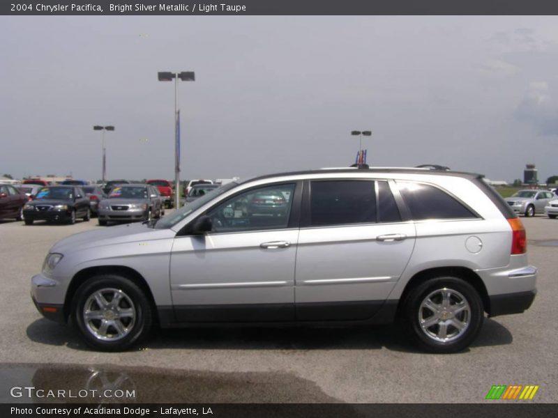 2004 Chrysler Pacifica Silver 2004 Chrysler Pacifica