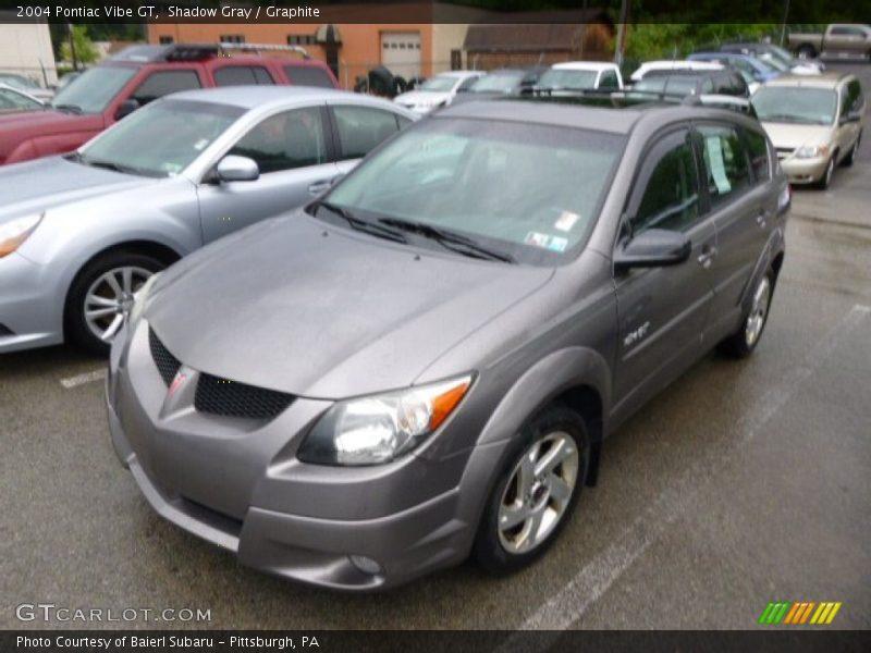 Shadow Gray / Graphite 2004 Pontiac Vibe GT