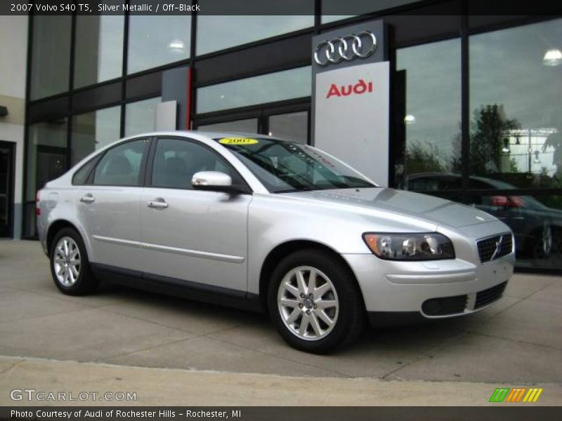 2007 volvo s40 t5 in silver metallic photo no 9408737. Black Bedroom Furniture Sets. Home Design Ideas