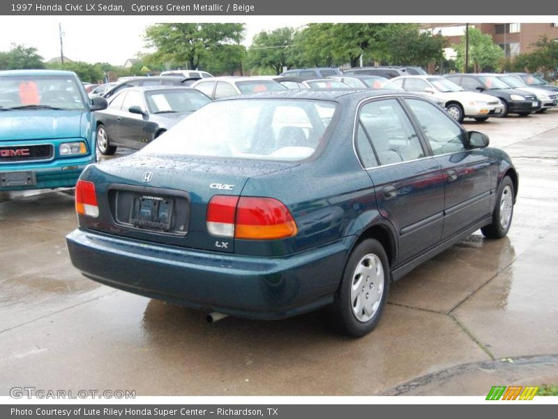 1997 honda civic lx sedan in cypress green metallic photo. Black Bedroom Furniture Sets. Home Design Ideas