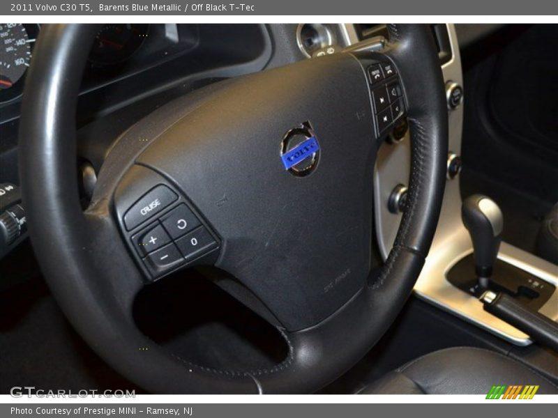 Barents Blue Metallic / Off Black T-Tec 2011 Volvo C30 T5