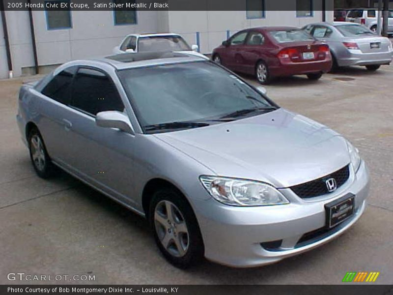 2005 honda civic ex coupe in satin silver metallic photo. Black Bedroom Furniture Sets. Home Design Ideas