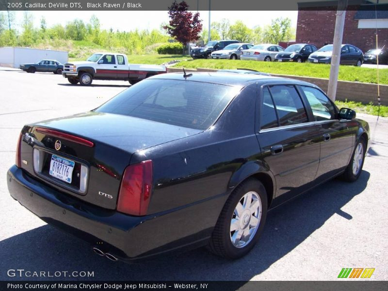 2005 Cadillac Deville Dts In Black Raven Photo No 9479210