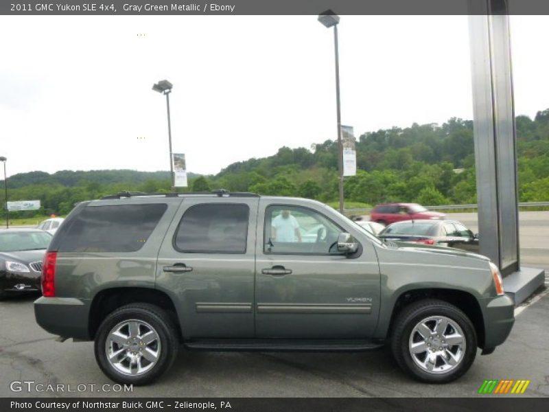 2011 Yukon SLE 4x4 Gray Green Metallic