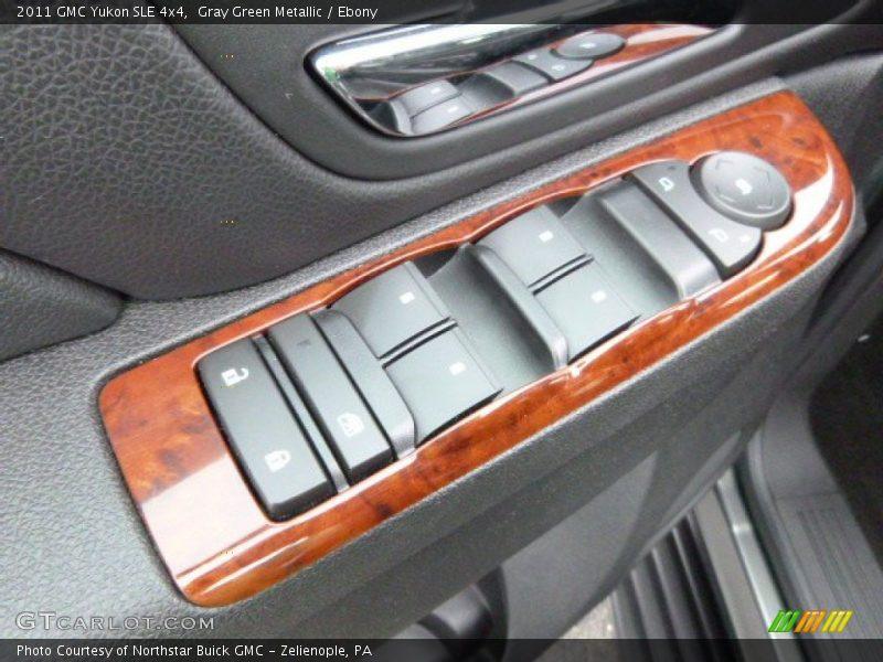 Gray Green Metallic / Ebony 2011 GMC Yukon SLE 4x4