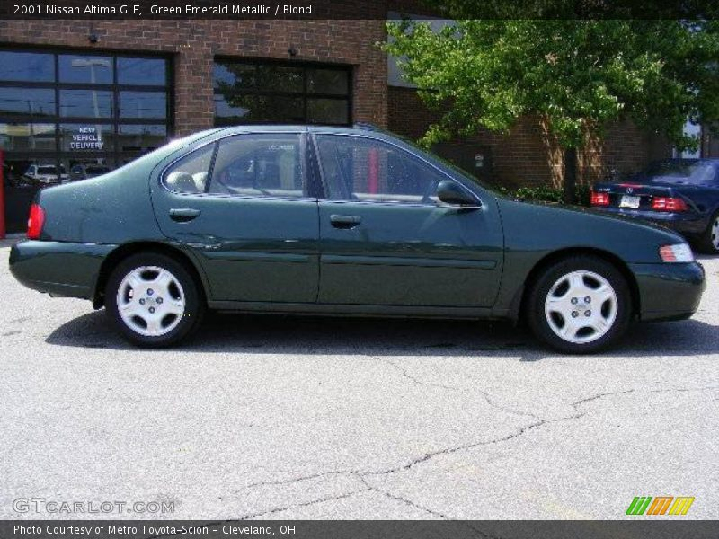 2001 nissan altima gle in green emerald metallic photo no. Black Bedroom Furniture Sets. Home Design Ideas