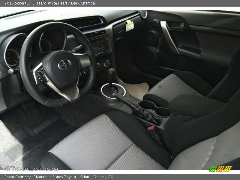 2015 tC  Dark Charcoal Interior