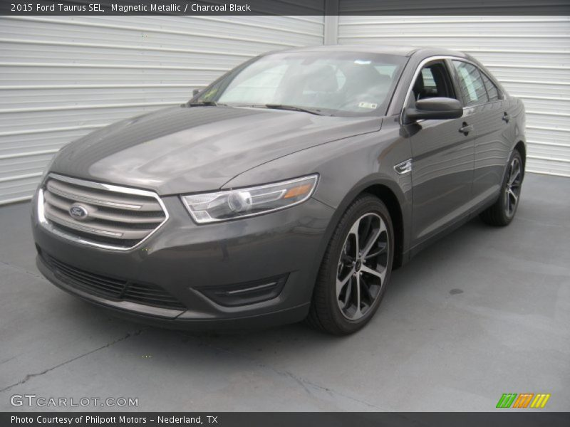 2015 ford taurus sel in magnetic metallic photo no 95982622. Black Bedroom Furniture Sets. Home Design Ideas