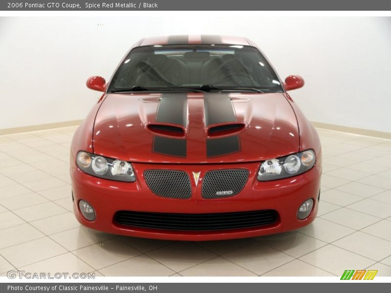 Spice Red Metallic / Black 2006 Pontiac GTO Coupe