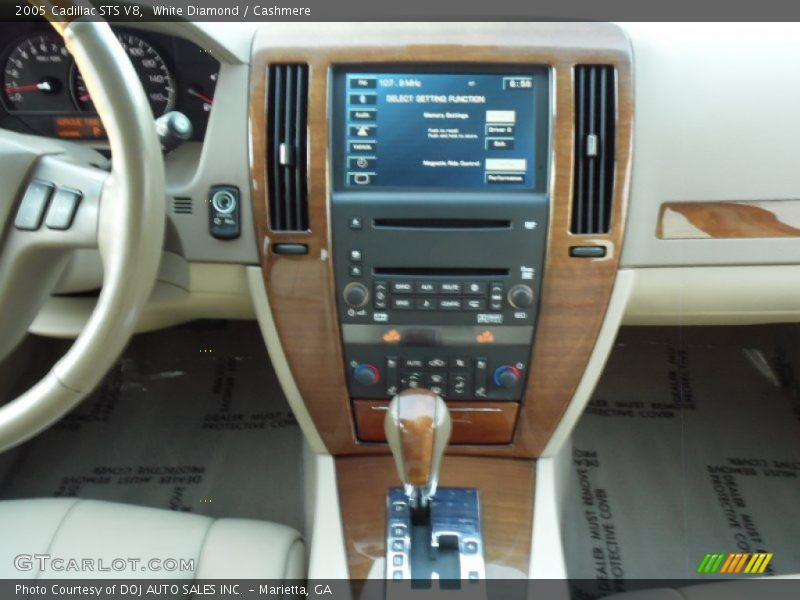 White Diamond / Cashmere 2005 Cadillac STS V8