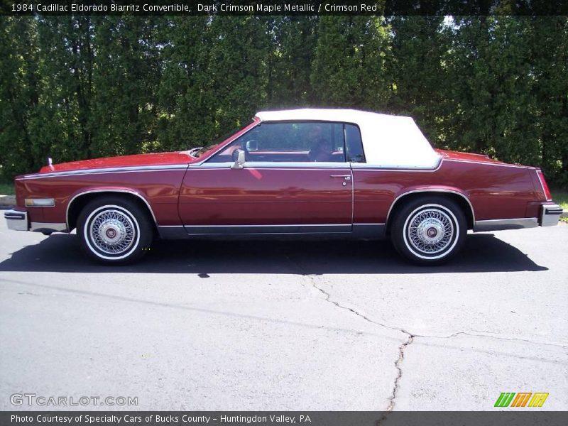 1984 Cadillac Eldorado Biarritz Convertible In Dark