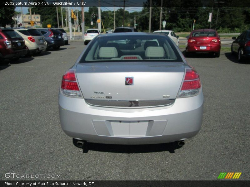 Quicksilver / Gray 2009 Saturn Aura XR V6