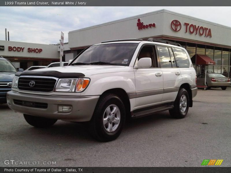 1999 Toyota Land Cruiser in Natural White Photo No. 9652174 | GTCarLot ...