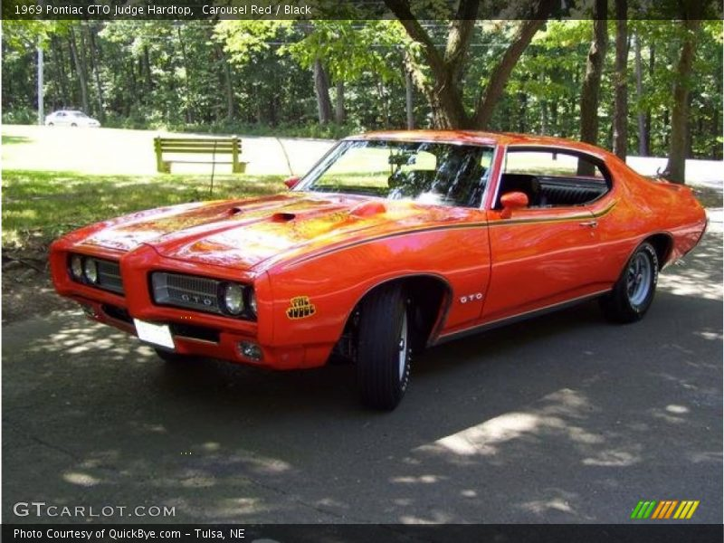 Front 3/4 View of 1969 GTO Judge Hardtop