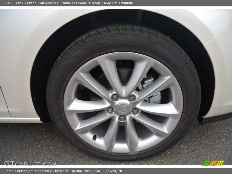 2015 Verano Convenience Wheel