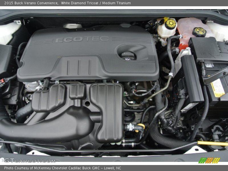 2015 Verano Convenience Engine - 2.4 Liter DI DOHC 16-Valve VVT 4 Cylinder