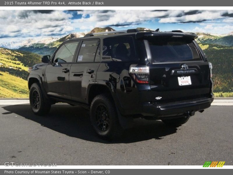 2015 Toyota 4runner Trd Pro 4x4 In Attitude Black Photo No