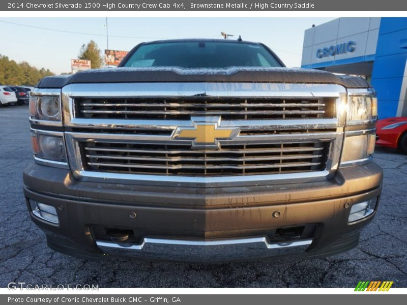 Brownstone Metallic / High Country Saddle 2014 Chevrolet Silverado 1500 High Country Crew Cab 4x4