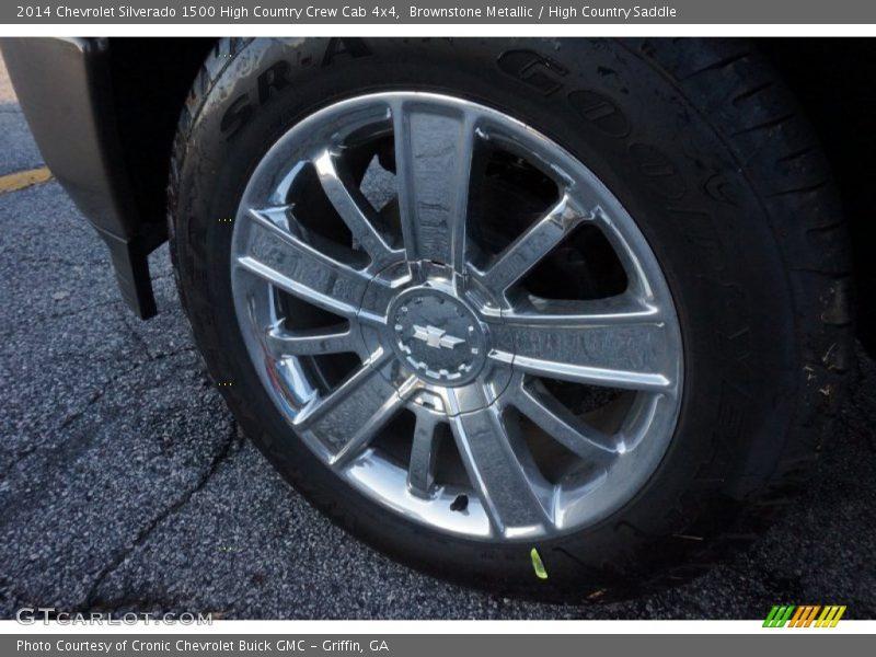 Brownstone Metallic / High Country Saddle 2014 Chevrolet Silverado 1500 High Country Crew Cab 4x4