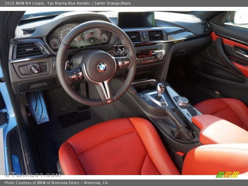 2015 M4 Coupe Sakhir Orange Black Interior Photo No 98640422