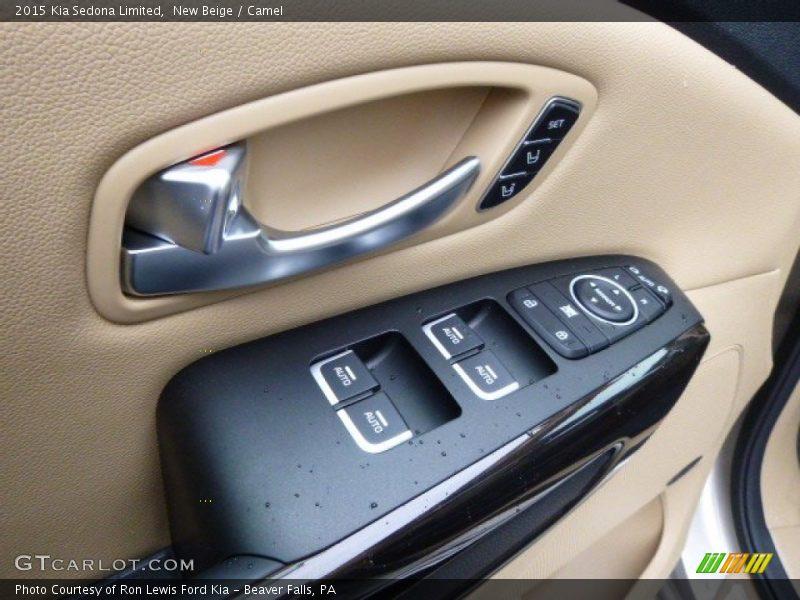 Controls of 2015 Sedona Limited
