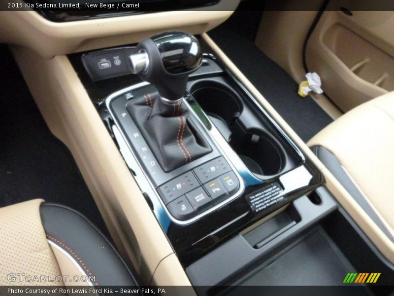 2015 Sedona Limited 6 Speed Sportmatic Automatic Shifter
