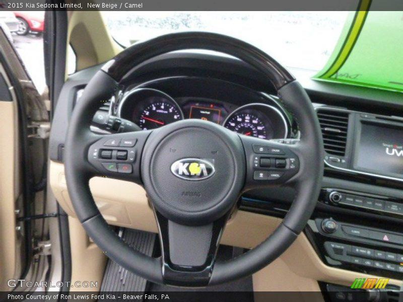 2015 Sedona Limited Steering Wheel
