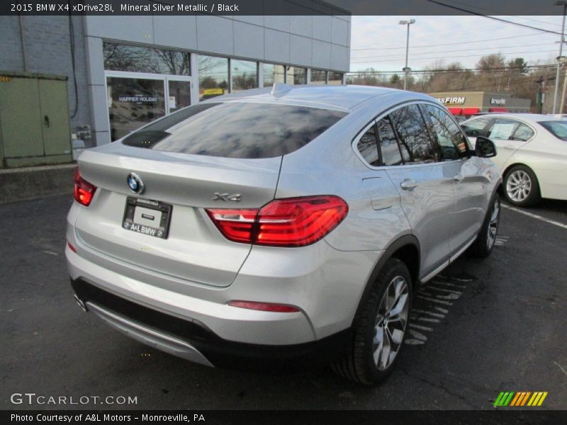 2015 BMW X4 xDrive28i in Mineral Silver Metallic Photo No ...