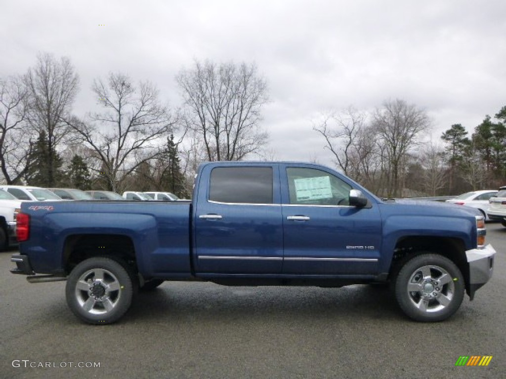 2015 deep ocean blue metallic chevrolet silverado 2500hd ltz crew cab 4x4 99988138 photo 7. Black Bedroom Furniture Sets. Home Design Ideas