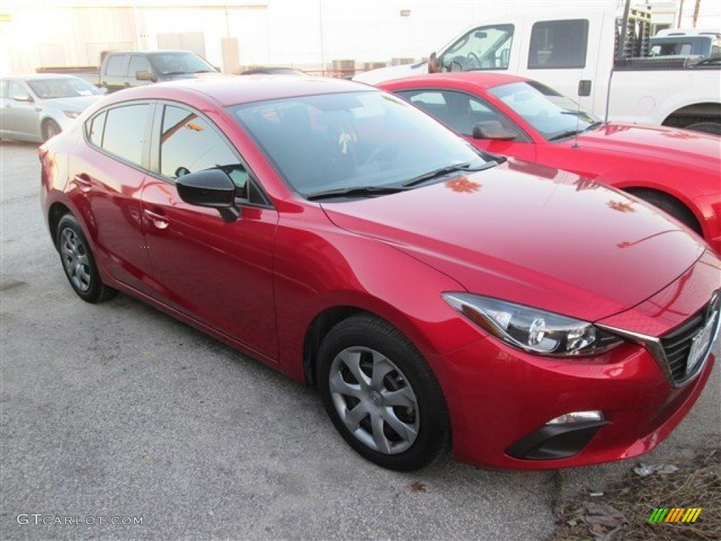 2014 soul red metallic mazda mazda3 i sv 4 door 99987814. Black Bedroom Furniture Sets. Home Design Ideas