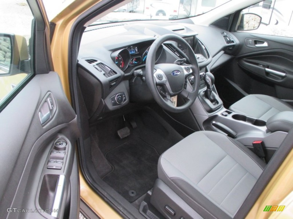 2014 Escape SE 1.6L EcoBoost 4WD - Karat Gold / Charcoal Black photo #5