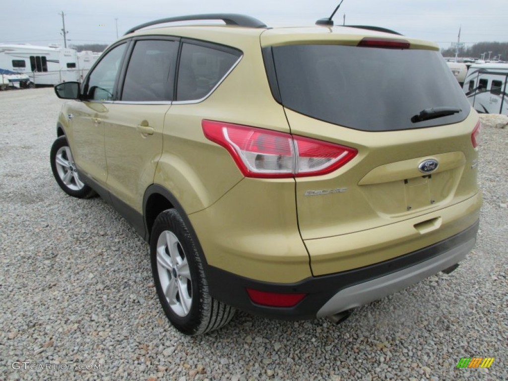 2014 Escape SE 1.6L EcoBoost 4WD - Karat Gold / Charcoal Black photo #22