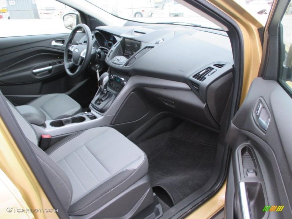 2014 Escape SE 1.6L EcoBoost 4WD - Karat Gold / Charcoal Black photo #26