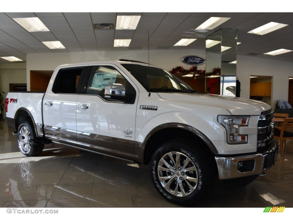 2015 f150 king ranch supercrew 4x4 white platinum tricoat king ranch java mesa