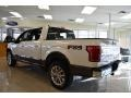 White Platinum Tricoat - F150 King Ranch SuperCrew 4x4 Photo No. 37