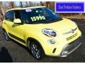 Giallo (Yellow) 2014 Fiat 500L Trekking