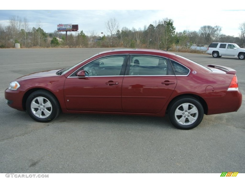Sport Red Metallic 2006 Chevrolet Impala Ltz Exterior Photo 100054169