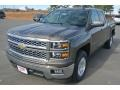 Brownstone Metallic - Silverado 1500 LT Double Cab Photo No. 2