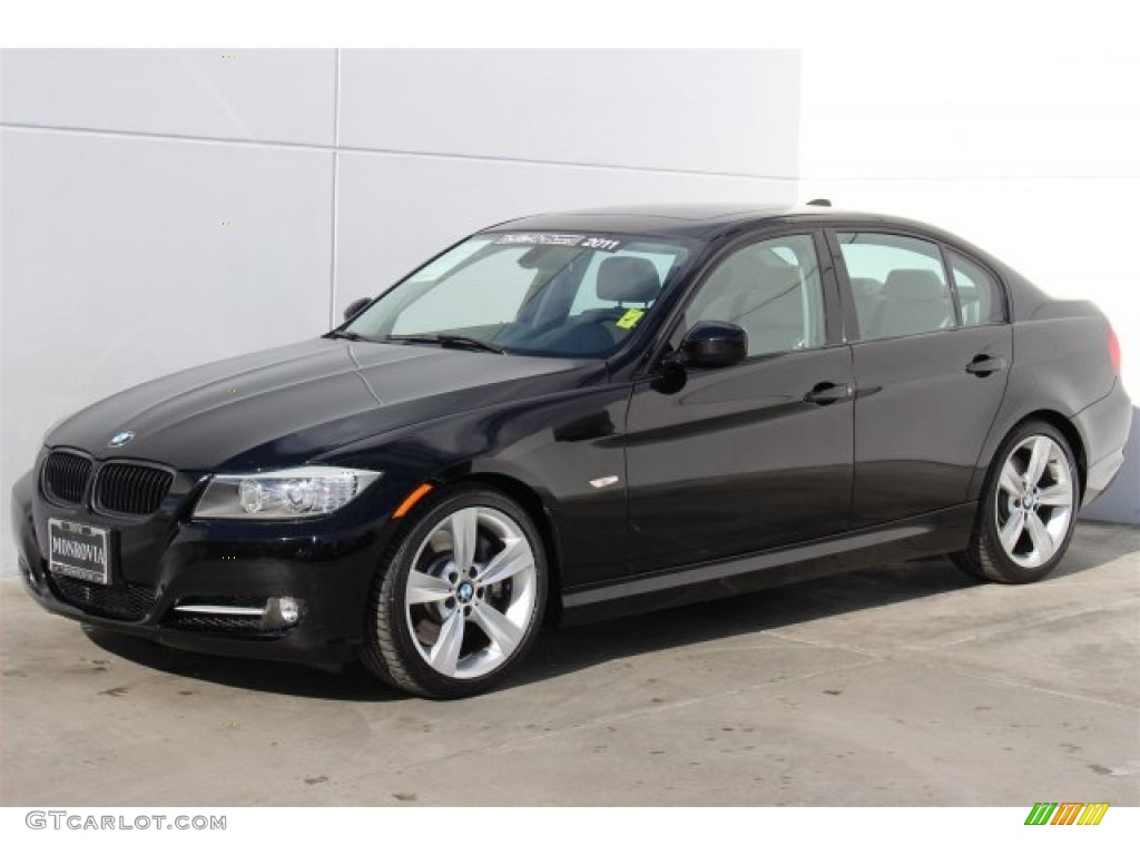 2011 jet black bmw 3 series 335i sedan 100027973 photo 5 car color galleries. Black Bedroom Furniture Sets. Home Design Ideas