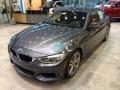 Mineral Grey Metallic 2015 BMW 4 Series 435i Gran Coupe