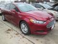 2015 Ruby Red Metallic Ford Fusion SE #100103688