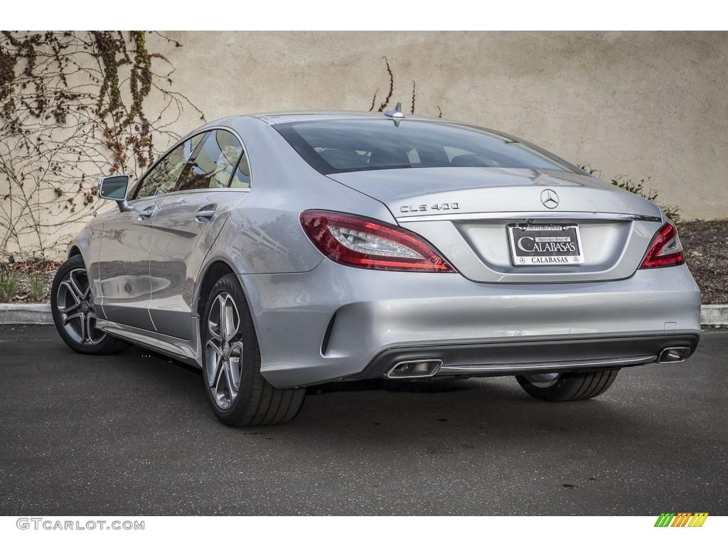 2015 iridium silver metallic mercedes benz cls 400 coupe for Mercedes benz color